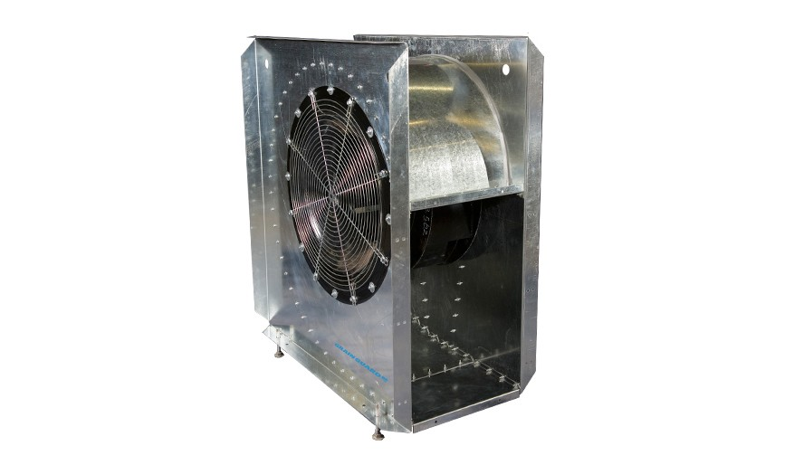 """16.875"""" X 30.25"""" 10HP Low Speed 230V 3 Phase Aeration Fan"""