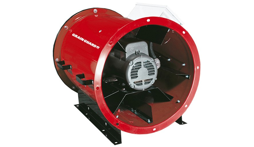 "28"" Inline 10HP 230V Single Phase Aeration Fan"